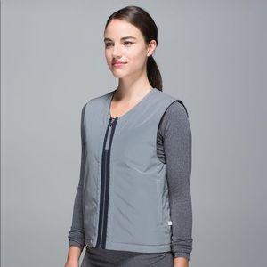 Lululemon reflective reversible vest C12
